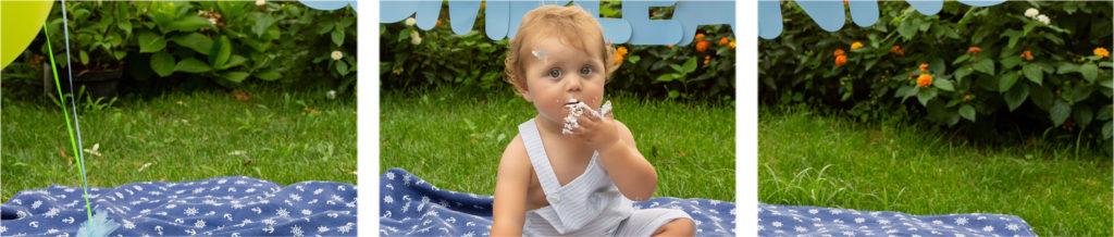 Sesión smash cake primer cumpleaños